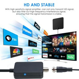 lettore mp3 al litio Sconti HDTV del segnale dell'antenna Amplificatore digitale per TV via cavo Fox HD Canale 25dB