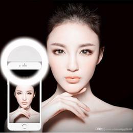 2019 espelhos self stick Bela Camera Phone Beleza selfie Led Light Fotografia selfie Luz