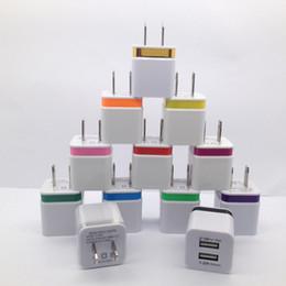 Çift arayüz USB Güç Adaptörü 5 V 1A ABD Plug 2USB Şarj Duvar Şarj iphone Samsung Akıllı Telefon için cheap interface adapters nereden arayüz adaptörleri tedarikçiler