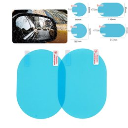 clear view car Promo Codes - 2Pcs Car Rear Mirror Protective Film Anti Fog Window Clear Rainproof View Soft Auto Accessories