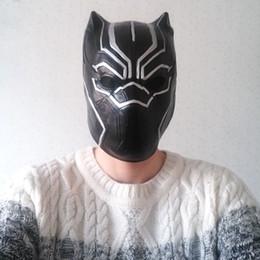 niedliche lippenstift-designs Rabatt Marvel Panther Cosplay Maske Avenger Super Hero Party Thema Kostüme Erwachsene Halloween Kosmetik Clown Kostüm Zubehör