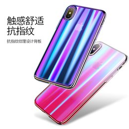 étui iphone Promotion Créativité de la gaine de protection pour PC 10 d'Apple Anti-chute pour le nouveau type d'iPhone X Mobile Shell de Youshengshi Dazzling Color