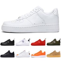 Nike air force 1 af1 just do it forces dunk Chaussures de course Hommes Femmes Skateboard airforce coupé Chaussures bas entraîneurs des hommes de