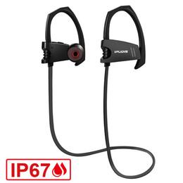 Ipudis Ip67 A prueba de agua Surfing Bluetooth Auricular Cancelación de ruido Deporte Inalámbrico Auricular Gancho para la oreja con micrófono 110 mah J190506 desde fabricantes