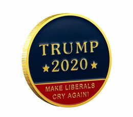 Deutschland 2020 Donald J Trump bringt Liberale zum Weinen Coin Keep America Great! Gold Challenge Gedenkmünze Versorgung