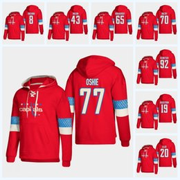Nicklas Backstrom Washington Capitals 2019 New Stlye Hoodie T.J. Oshie Alex  Ovechkin Tom Wilson Braden Holtby Andre Burakovsky Jersey hauptstadt hoodie  ... 91a5eaaedc39