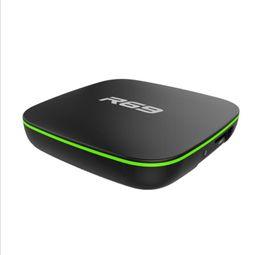 Argentina R69 Android 7.1 TV Box WiFi Allwinner H3 tv box android 1GB 2G ram 8GB 16G ROM Quad Core Set-top Box 4K Suministro