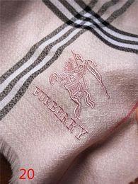 Top Designer Seidenschal Marke Schal Damen weiche Super-Luxus-Winter-Kaschmir-Schal Pashmina für Frauen-Marken-Entwerfer Mens warm Plaid von Fabrikanten