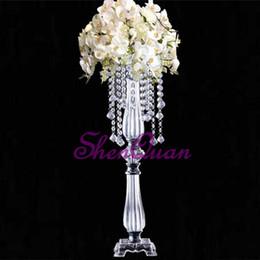 Mesas redondas casamentos on-line-Arco de flor redonda suporte de metal arco de casamento para casamentos decoração, acrílico mesa central, casamento carrinho de flor