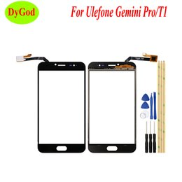 gemini pro Promo Codes - 5.5'' For Ulefone T1 Touch Panel High Quality Repair Parts Touch Screen Digitizer Glass For Ulefone Gemini Pro Cell Phone +Tools