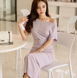 сексуальные корейские бедра Скидка 2019 весной и летом корейской версии нового сексуального платья бедра с короткими рукавами