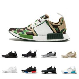 sports shoes 69973 98f71 nmd shoes Sconti 2019 NMD R1 Oreo Runner Nbhd Primeknit OG Triple Nero  Bianco Camo Scarpe