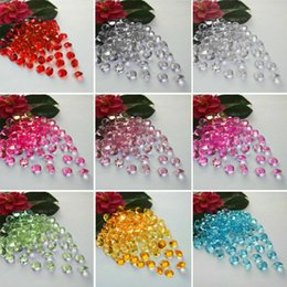 Claro wedding//party cuadro gems//confetti//decorations crystals//diamond 8mm 2carat