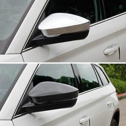 2019 автомобильная хромированная отделка ABS 2шт. Внешнее автомобильное зеркало заднего вида хромированная накладка для Skoda Kodiaq 2017 2018 Аксессуары для укладки дешево автомобильная хромированная отделка