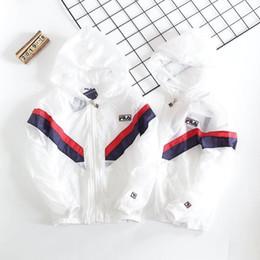 Vêtements de climatisation en Ligne-2019 garçons à capuche Sunscreen air conditionné vêtements Des tissus blanchissants et non-décolorants sont utilisés aux points de raccordement chauds