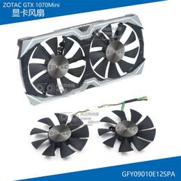 Nouvel original pour le ventilateur de refroidissement de la carte graphique ZOTAC GTX1070 MINI GFY09010E12SPA DC12V 0.5A ? partir de fabricateur