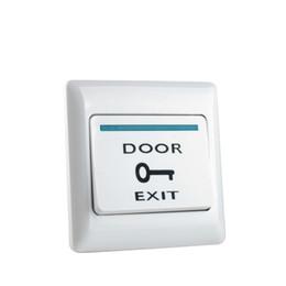 Ignifuge plastique ABS porte bouton de sortie bouton poussoir d'urgence pour la porte système de contrôle d'accès d'entrée pour toutes les serrures électriques ? partir de fabricateur