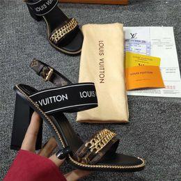Роскошные туфли на каблуках онлайн-PASSENGER SANDAL Высокие каблуки Fashion Luxury Designer Женские дизайнерские сандалии Женская обувь Высокие каблуки Роскошные сандалии с оригинальной обувной коробкой