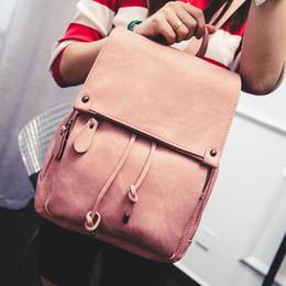 опрятные рюкзаки средней школы Скидка Рюкзак женская мода дизайнер рюкзаки сумки на ремне искусственная кожа опрятный стиль средней школы студент сумка розовый рюкзак девушка дорожная сумка