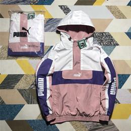 giacca di bomber delle donne nere Sconti Giacca da donna Designer Autunno Top Brand Sportswear Per donna Coppia Cappuccio Casual Zipper Windbreaker Lettera ricamo stampato Taglia M-XL # 163