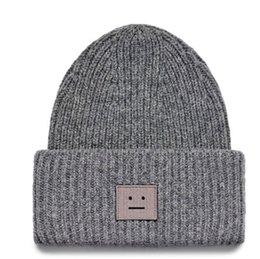 Beanie hüte für paar online-Lächelndes Gesicht Beanie Skull Caps gestrickt Kaschmirauge Warm Paar Liebhaber Akne Hüte Flut Straße Hip-Hop Wollmütze Erwachsene