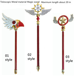 Costumes & Accessories Novelty & Special Use Hearty Free Shipping Card Captor Sakura Kinomoto Sakura Cosplay Props Star Birds Magic Wand Weapon In Stock