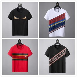 4dd62f1ffc8c2c Marke Sommer Hip Hop männer T-shirt Kurzarm Stilvolles Hemd Hemd Männer  Teel Hip Herren T Shirts Tees Baumwollmischung Verkauf