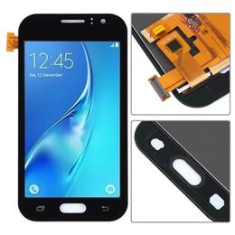 Peças ace on-line-Para Samsung J1 ACE J110 TFT digitador da tela de toque LCD sem moldura, brilho ajustável, Peças de Reposição, novos e de alta qualidade
