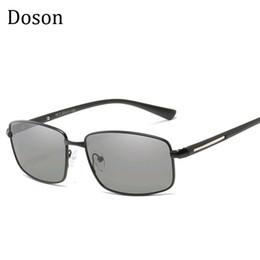 Scolorimento degli occhiali da sole online-2018 Nuovi Occhiali da Sole Polarizzati Fotocromatici Uomini che Guidano Pesca Camaleonte Scolorimento Occhiali da sole Occhiali Occhiali Oculos UV400