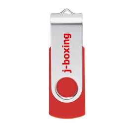 Wholesale Red Metal Rotación GB USB Flash Drives gb Flash Pen Drive Almacenamiento de pulgar Suficiente Memory Stick para PC Laptop Macbook Tablet