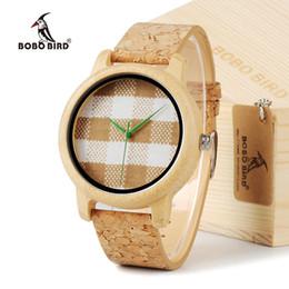 Оптовая А28 мужские часы Топ Марка роскошные деревянные часы с натуральной кожи полосы в коробке часы подарок часы Relogio часы от