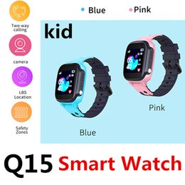 Canada Q15 Child Smart Call Watch Positionnement LBS Dialogue vocal Micro discussion Clôture électronique Protection à distance Protection KID étanche Vente au détail Offre