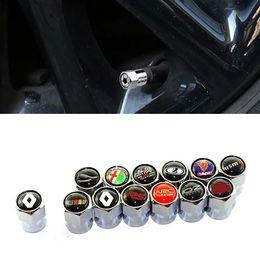 4x Auto Reifen Ventilkappen schwarz aus Aluminium für BMW Audi Mercedes VW Opel