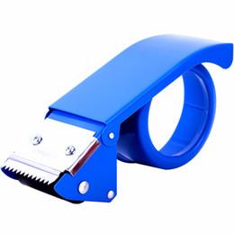 MIRUI sealer metal width size 48 mm Dispenser nastro adesivo semplice trasparente Forniture da scrivania per ufficio da nastro adesivo a caldo fornitori
