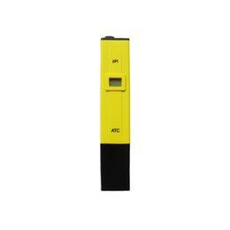 acuario de prueba de ph digital Rebajas 0.1-14.00 Probador portátil de medidor de pH digital para el acuario de la piscina de acuario Monitor de pH con ATC