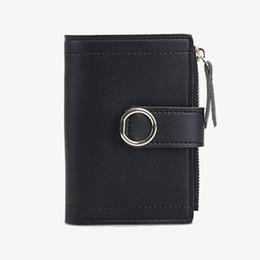 2019 bolsa para carteira senhoras Mulheres Carteiras de Couro PU Ferrolho Curto Moda Lady Zipper Coin Purse Moneybags Cartões Carteira de Embreagem Titular Mini Sacos Notecase Bolsa bolsa para carteira senhoras barato