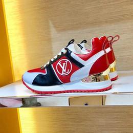 Zapato de correr online-Zapatillas de deporte de las mujeres Zapatos casuales Cuñas transpirables Mocasín Exclusivo digital Zapatillas de deporte de las zapatillas de deporte de las mujeres 1A4WSV Chaussures pour hommes