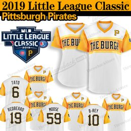 2019 anleihen trikot Pittsburgh Little League Klassische Piraten Trikot Josh Bell Francisco Cervelli Chris Archer Barry Bindet Willie Stargell Baseball-Trikots günstig anleihen trikot