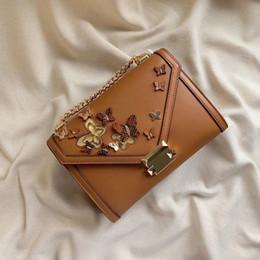 Bolsas de borboleta on-line-Nova bolsa de moda designer de bolsas de luxo bolsas senhoras de alta qualidade designer Cross Body bag Borboleta rebite decoração frete grátis