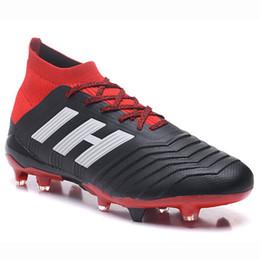 online store 2ef6b df503 Top Adidas Predator 18+ Calzado de fútbol para hombre Botas de fútbol FG  2019 Nuevo Predator 18.1 Paul Pogba Tacos Slip-On PureControl Purechaos  Tacos de ...