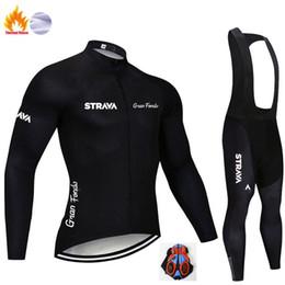 2019 manga curta gigante azul Strava Pro equipo de invierno ropa ciclismo lana térmica para hombre traje de Jersey de manga larga para montar en bicicleta MTB