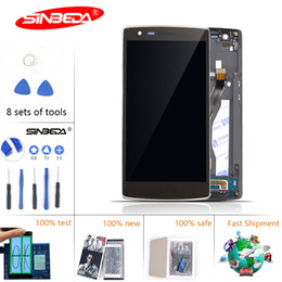 Oneplus um quadro on-line-Sinbeda lcd para oneplus one tela de toque lcd com substituição digitador quadro para oneplus one display 1 1 + a0001