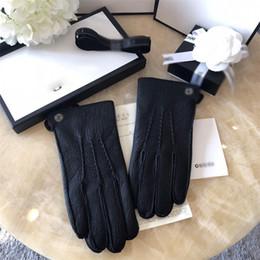 2019 luvas sem dedos de prata Maré Marca Homens Luva de Couro Design de Moda Homens Luvas da Moda Presentes na moda para Namorados Cinco Dedos Luvas
