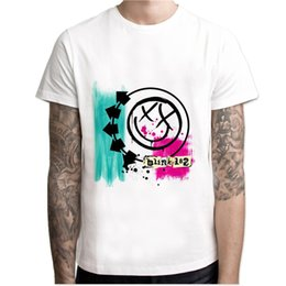 2019 style t-shirt design hip hop Blink 182 T shirt Hip Hop Style Nouvelle Conception Originale T-shirt Cool Mode Homme femmes tshirt Couleur MCR241 promotion style t-shirt design hip hop