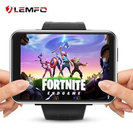 relojes inteligentes lemfo Rebajas LEMFO LEM T 4G Pantalla 2,86 pulgadas inteligente reloj Android 7.1 Cámara de 5 megapíxeles 3GB 32GB 480 * 640 Resolución de la batería 2700mAh SmartWatch Hombres