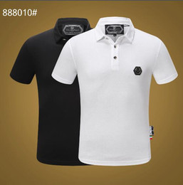 cc88489c 2019 Poloshirt Solid Polo Shirt Men Luxury Polo Shirts short Sleeve Men's  Basic Top Cotton Polos For Boys Brand Designer Polo Homme FC888010