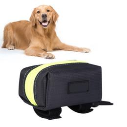 fuente de alimentación de bolsillo Rebajas Bolsillos con bolsas de basura Suministros para mascotas Impermeable Oxford Portátil Bolsa para mascotas de entrenamiento Paquete de tela Recompensa Coma