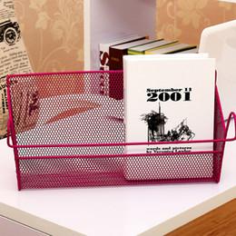 Banyo Mutfak Depolama Sepetleri Ev Kullanımı Başucu Asılı Sepet Öğrencilerin Yurdu Sundries Depolama Sepeti Başucu Sepeti BH1140 TQQ supplier metal storage baskets nereden metal saklama sepetleri tedarikçiler