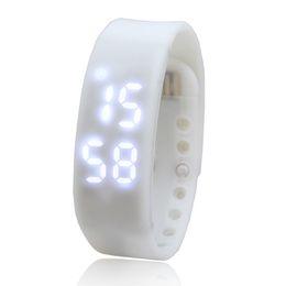 Resistente al agua deporte relojes mujeres online-Addies nuevo reloj de pulsera digital para hombres, salud, mujeres, deporte, resistente al agua, medición de temperatura, reloj rastreador de ejercicios