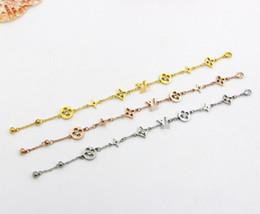 2019 nunca desbotar jóias ZHF Jóias Charm Bracelet Rose Gold Para Mulheres e Homens Nunca Desaparecer 15 + 5 cm Pulseira Cadeia de tamanho Ajustável